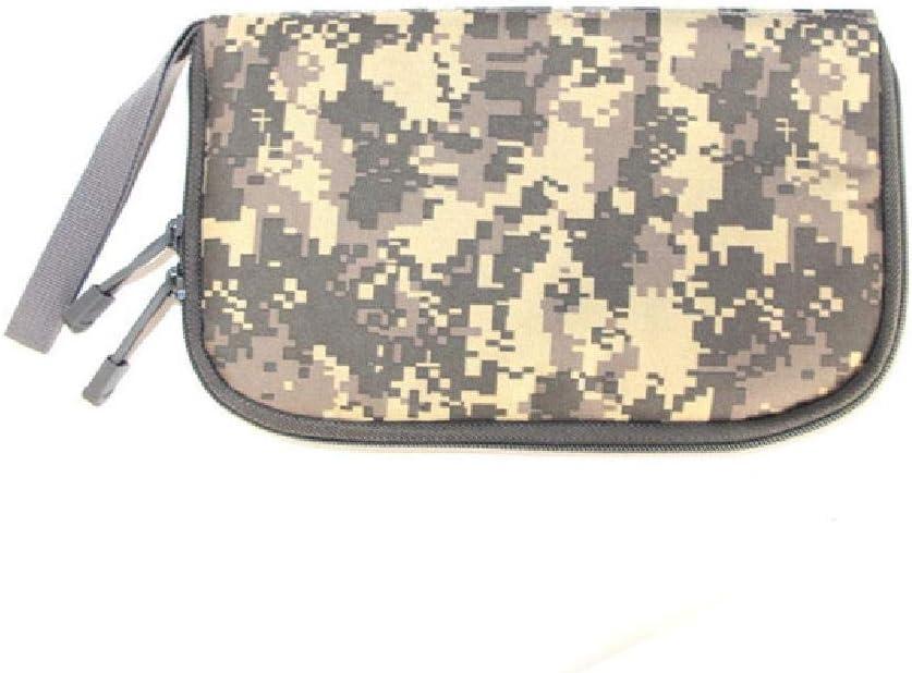 Tactical Gun Bag Hand Carry Pouch Airsoft Pistol Case Holster Mi