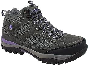 Coleman Women's VAIL Grey Suede Hi Cut Soft Toe Hiking Hiker Boots. VAIL-9D