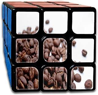 Cyclone Boys 3x3 Fashion Speed Cube Sticker Coffee Beans Magic Cube 3x3x3 Puzzles Toys (56mm)