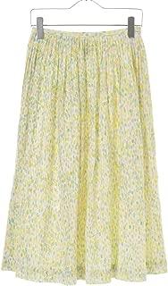 (ミナペルホネン) mina perhonen jelly beans コットンシルク ギャザーロング スカート