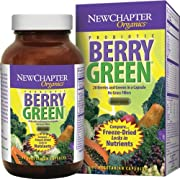 New Chapter Organics, Berry Green, Vegetarian Capsules, 90-Count