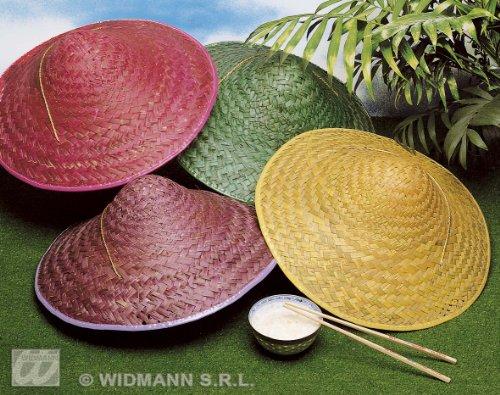 Widmann Strohhut Vietkong 1 von 4 Farben Orientalische Mützen & Kopfbedeckung für Kostüme Zubehör