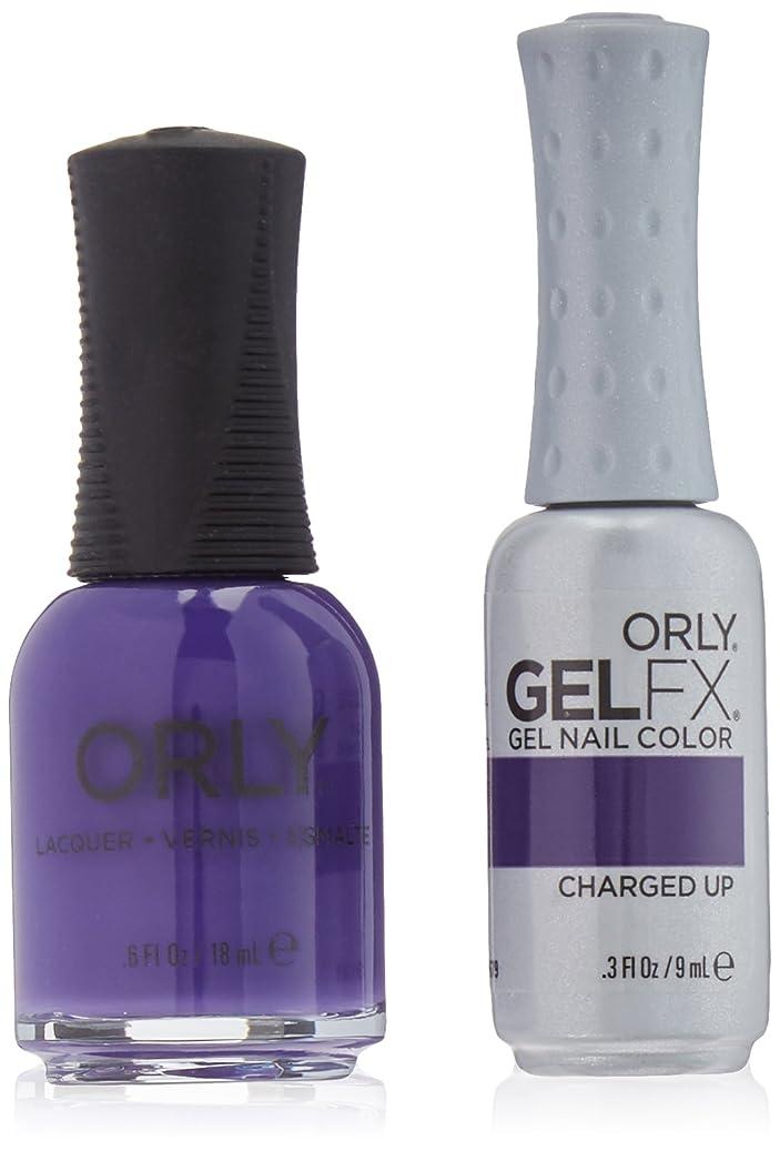 染料良心うれしいOrly Nail Lacquer + Gel FX - Perfect Pair Matching DUO - Charged Up