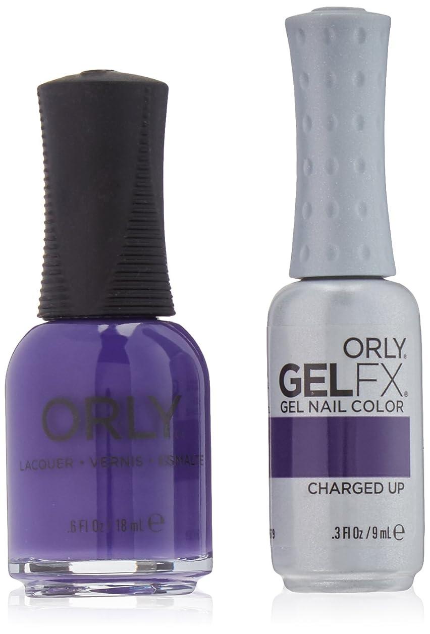 マニフェスト反対した派生するOrly Nail Lacquer + Gel FX - Perfect Pair Matching DUO - Charged Up