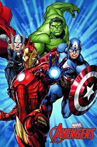 Avengers–Coperta in pile Hulk Avengers Inverno 2015