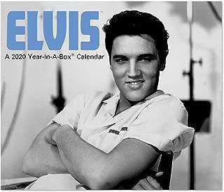 2020 Elvis Presley Year-In-A-Box Calendar (LMB1310020)