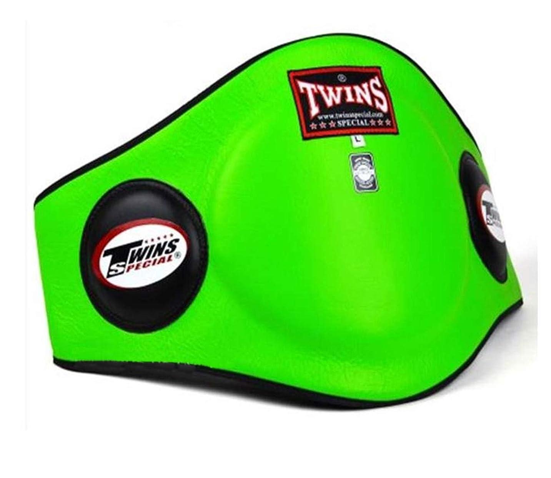 通知僕の寛解Twins Belly プロテクター パッド ガード BEPL-2 レッド タイ キックボクシング MMA K1 本革