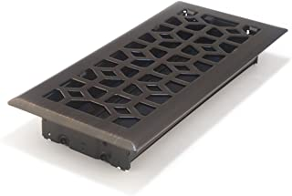 Accord AMFRRBM410 Marquis Floor Register, 4-Inch x 10-Inch(Duct Opening Measurements), Dark Oil-Rubbed Bronze