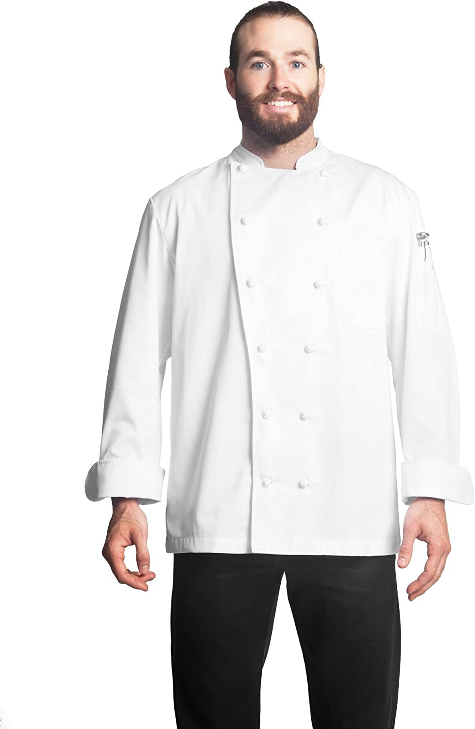 Bragard Super-cheap Alfred Long Sleeve Chef Jacket Ideal Kitchen for Popular brand Wear Po
