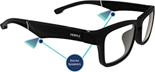 Xertz Shield Z1 Audio Sunglasses Frame with Stereo Speakers and Bluetooth 5.0 (Clearglasses)