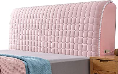 Bed Headboard Cover Bedside Protection Cover Headboard Slipcover Protector Dustproof Headboard Decor for Single Double King Beds (Color : Purple, Size : 1.6M)