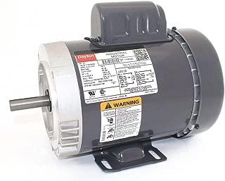 Dayton 3/4 HP General Purpose Motor,Capacitor-Start,3450 Nameplate RPM,Voltage 115/208-230,Frame 56C