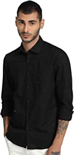 Knighthood Cotton Solid Formal Shirt