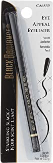Black Radiance Retractable Eye Appeal Pencil, Sparkling Black, 0.008 Ounce