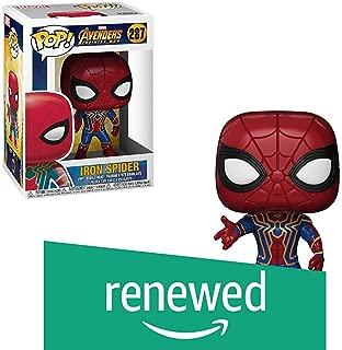 (Renewed) Funko Marvel Avengers Infinity War Iron Spider Man Funko Pop Bobble Head Action Figure
