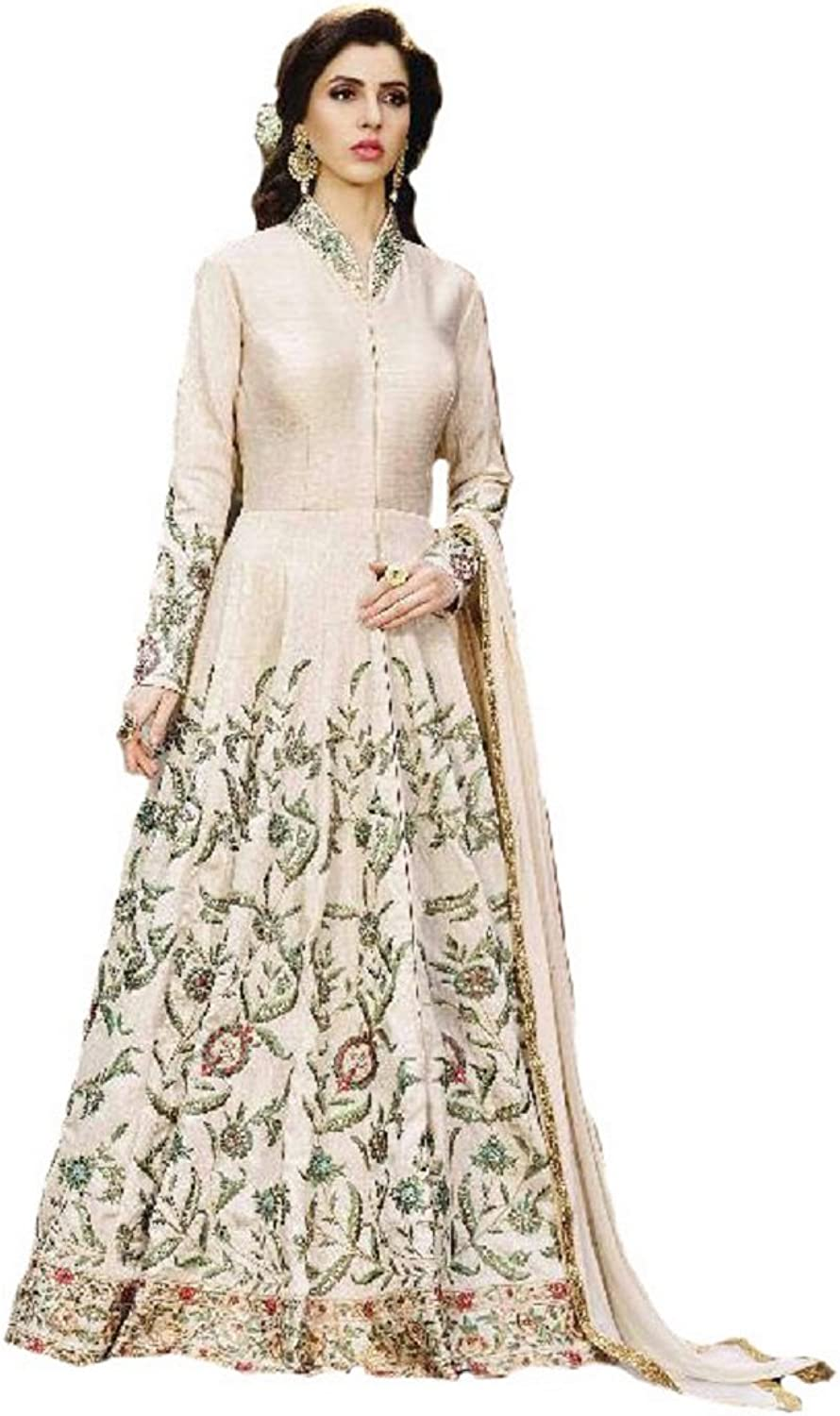 Designer Indian Fashion Anarkali Salwar Kameez Party Wear 001