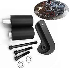 HTTMT MT219-024-BK No Cut Frame Slider Protector Compatible with 2006 2007 2008 Suzuki Gsx-R Gsxr 600 750 Black