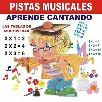 Pistas Musicales Aprende Cantando las Tablas de Multiplicar