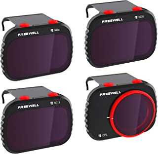 Freewell Standaard dag - 4K-Serie - 4Pack Filters Compatibel met Mavic Mini/Mini 2