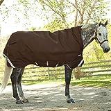 Horseware Rambo Wug mit Vari Layer - Winterdecke 165cm 450g Füllung Choc/Choc & Cream