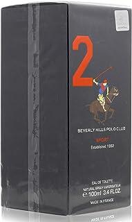 Beverly Hills Polo Club Sport 2 Spray for Men - Eau De Toilette, 100 ml
