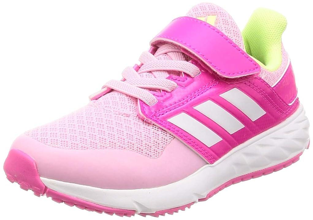 バクテリアチェリーエリート[アディダス] スニーカー アディダスファイト EL K 17.0cm-25.5cm 運動靴 通学履き 軽量 男の子 女の子