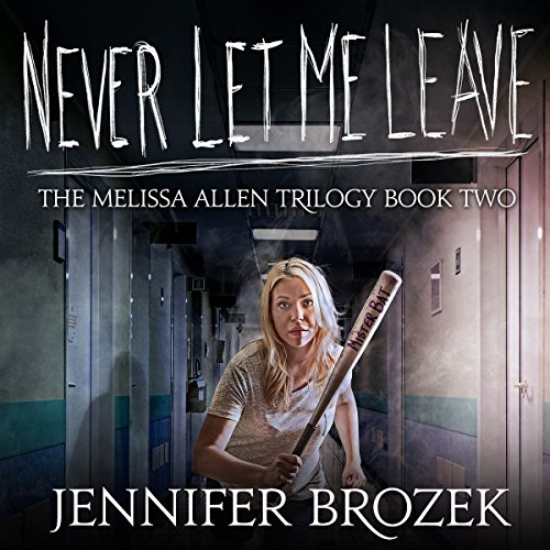 Never Let Me Leave audiobook cover art