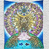 Bohemia hippie tapiz colgante de pared psicodélico bohemio...