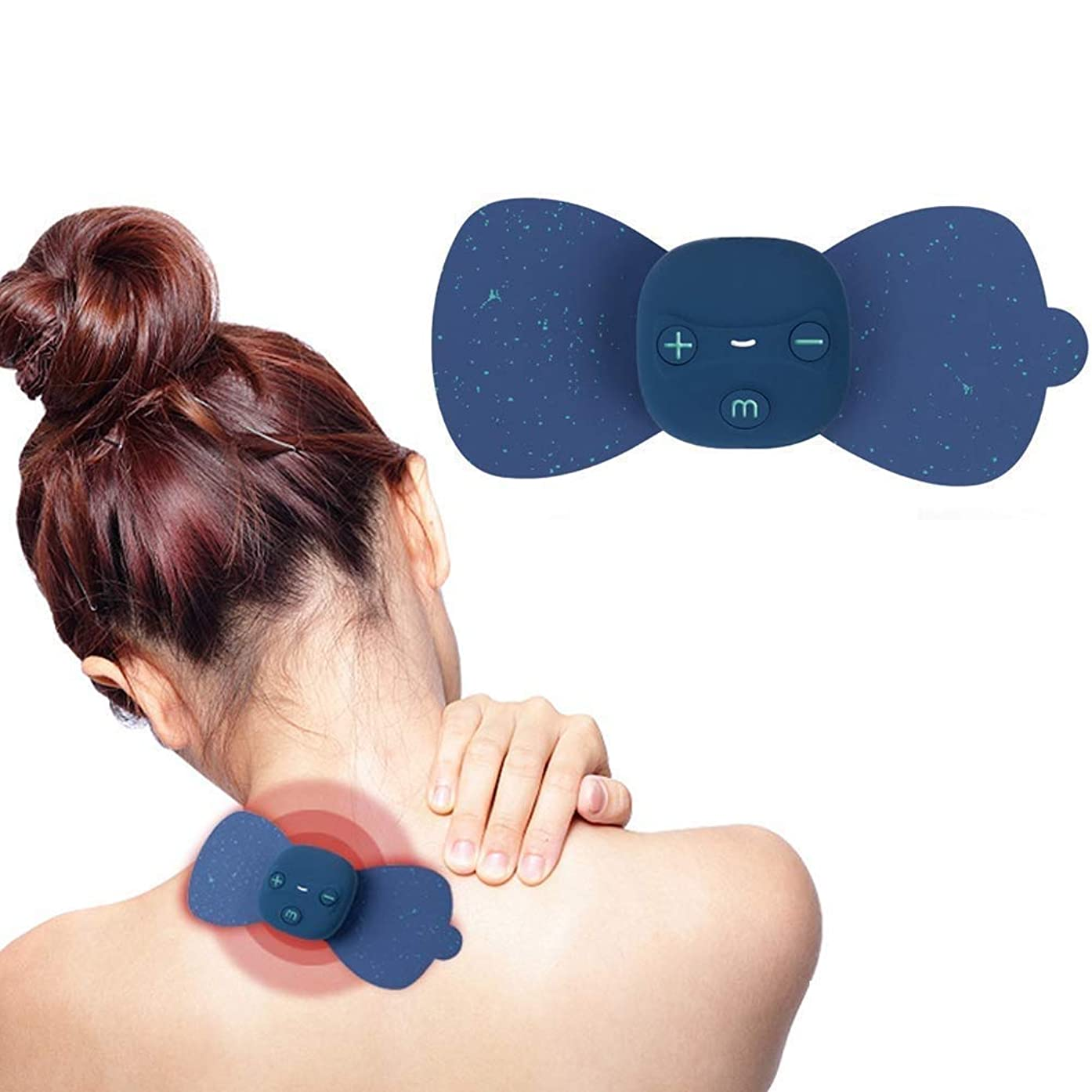 相談シリーズアンケートマッサージステッカー EMSマッサージテンマシンセラピーデバイス、ワイヤレステンユニット - 電極パッドデバイス - 電気刺激マシン - EMS痛み緩和療法神経刺激用筋肉