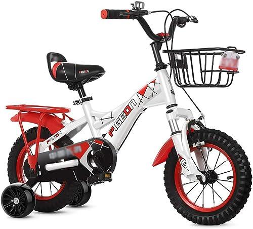 en stock BAICHEN Bicicletas para para para Niños Bicicleta para Niños con Rueda de Entrenamiento 12 14 16 18 Pulgadas Adecuado para Niño y niña de 2 a 9 años de Bicicleta,rojo,14inches  hasta 42% de descuento