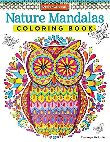 Mcardle, T: Nature Mandalas Coloring Book: 13 (Coloring is Fun)