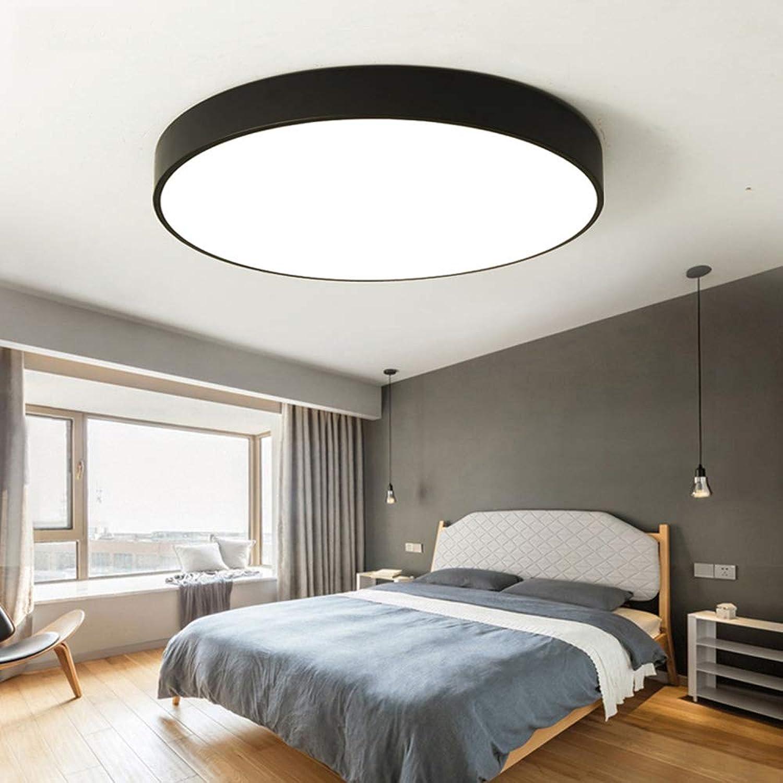 LED deckenleuchte Einfache moderne gang beleuchtung schlafzimmer wohnzimmer lampe schwarze und weie runde acryl deckenleuchte