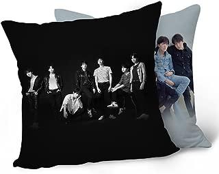 Bosunshine BTS Bangtan Boys Love Yourself 承 'HER' 'Tear 'Throw Pillow Soft Velvet Core Pillowcase (Fake Love-01)