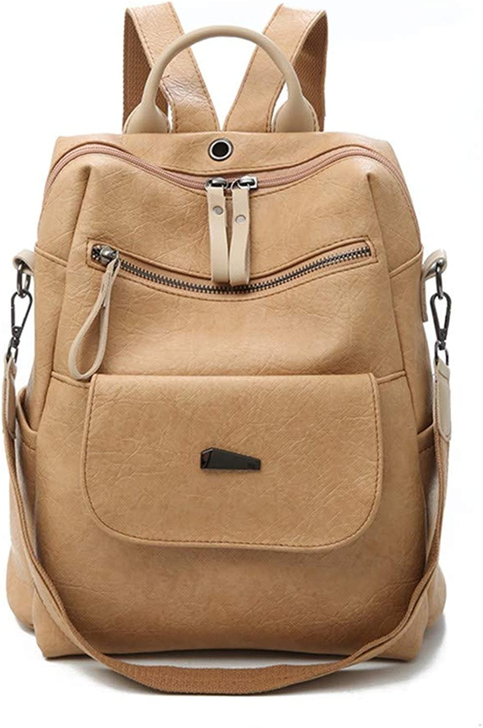 H-M-STUDIO Bags Autumn and Winter Large Capacity Travel and Leisure Backpack Khaki 28  30  12Cm