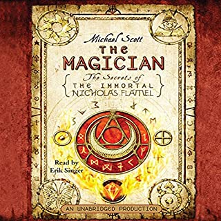 The Magician     The Secrets of the Immortal Nicholas Flamel, Book 2              By:                                                                                                                                 Michael Scott                               Narrated by:                                                                                                                                 Erik Singer                      Length: 10 hrs and 58 mins     2,520 ratings     Overall 4.4