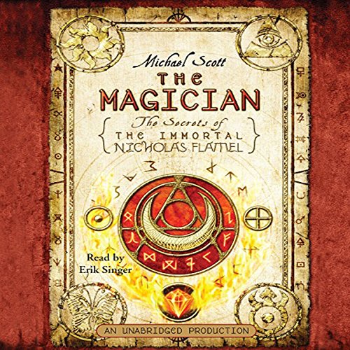 The Magician     The Secrets of the Immortal Nicholas Flamel, Book 2              By:                                                                                                                                 Michael Scott                               Narrated by:                                                                                                                                 Erik Singer                      Length: 10 hrs and 58 mins     2,521 ratings     Overall 4.4
