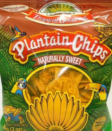 TROPICAL GOURMET Bananen Chips süss aus Ecuador 85g