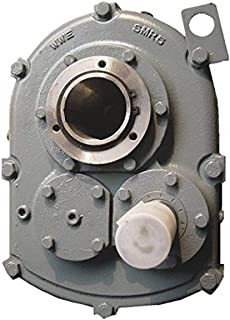Worldwide Electric HdRF237-15//1-R-56C Worm Gear Reducers 56C Frame 120 Output RPM 15:1 Ratio 2.37 WCD Center Right Hand Output