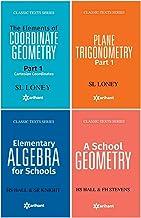 The Elements of COORDINATE GEOMETRY Part-1 Cartesian Coordinates + PLANE TRIGONOMETRY Part-1 + A SCHOOL GEOMETRY + Element...