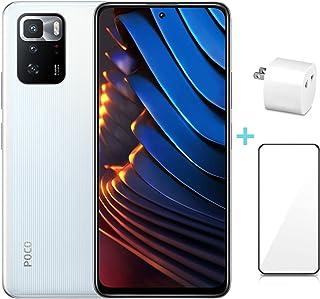 Xiaomi POCO X3 GT 5G グローバル版 (8GB+128GB) スマートフォン本体 スマホ本体 6.6inch 6400万画素 67W急速充電SIMフリー AI顔認証120Hzリフレッシュレート 【変換アダプター/画面保護シート...