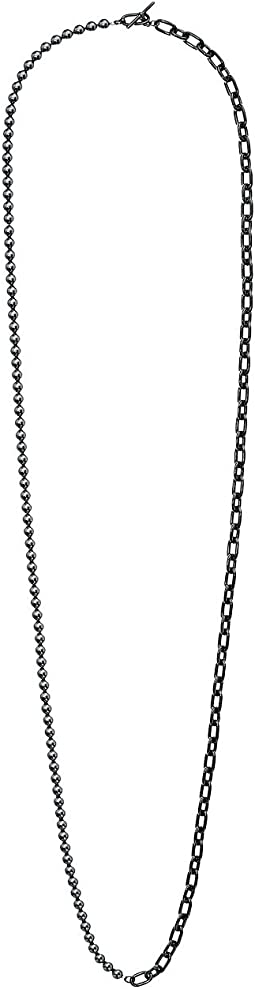 Pearl Link Dual Strand To Choker Necklace