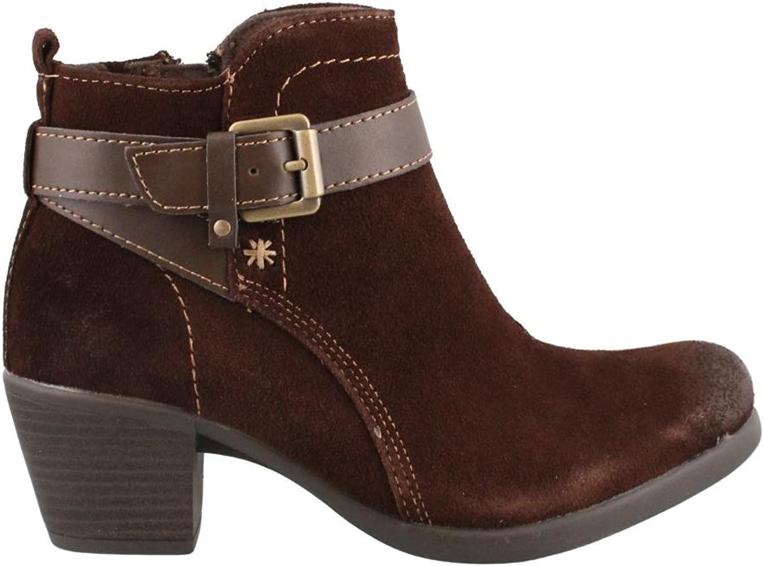 Women's Earth Origins, Kaia Ankle Boots BROWN 6 M