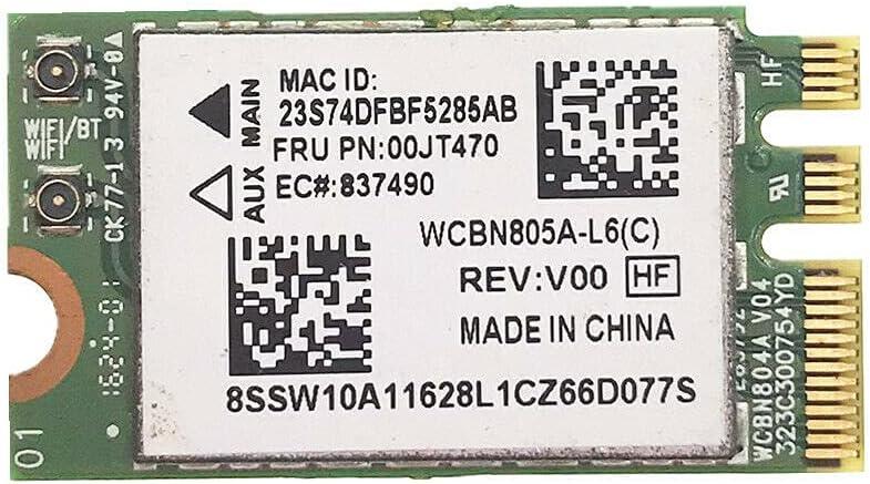 langchen 802.11AC Wireless Jacksonville Mall 433M Super special price WiFi Ad QCNFA34AC Card Bluetooth