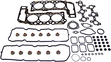 DNJ HGS1106 MLS Head Gasket Set/For 2005-2012 / Dodge, Jeep, Mitsubishi, Ram / 1500, Commander, Dakota, Durango, Grand Cherokee, Liberty, Nitro, Raider, Ram 1500/3.7L / SOHC / V6 / 12V / 226cid