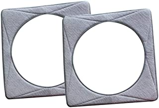 Huiaway Washable & Reusable Cleaning Pads Replacement for ECOVACS WINBOT W930 2 Packs
