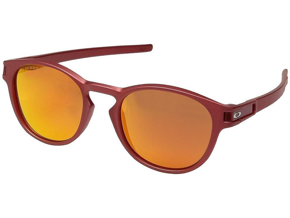 Oakley Latch (Iridium Red w/ Prizm Ruby) Fashion Sunglasses