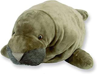Wild Republic Jumbo Manatee Plush, Giant Stuffed Animal, Plush Toy, Gifts for Kids, 30 Inches