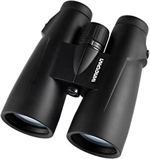 Wingspan Optics Panorama 8X56 High Powered Binoculars for Bird Watching. XL 56mm Lens for The Brightest, Clearest View Possible. Waterproof. Fog Proof. Binocular Harness Included. from Polaris Optics