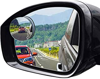 2Pcs Blind Spot mirrors, HD Glass Convex rear View mirror with Adjustable Wide Angle Driver Side mirror and Passenger Side...