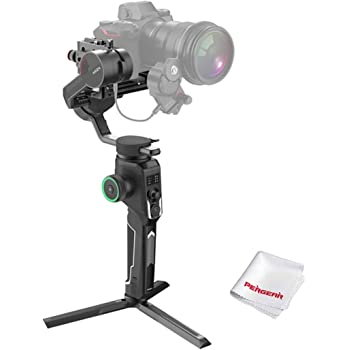 MOZA AirCross 2 スタビライザー カメラ専用 ジンバル カメラ オートバランス 縦撮り スマートホイール OLEDスクリーン 3軸ロック 急速充電 アプリ操作 カメラSony/Nikan/Canon/Panasonicに対応 【MOZA正規品&1年保証】